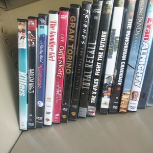 DVDs 25c Ea. for Sale in Pasadena, TX