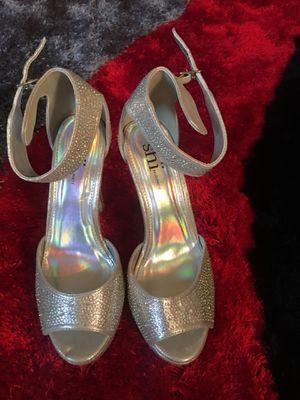 Bride/Wedding/Prom Heels size 6.5-7 for Sale in Fairfax, VA