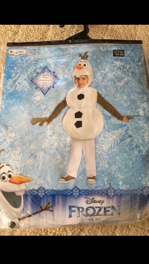 New Disney Frozen Olaf Halloween Costume (3T-4T for Sale in Los Angeles, CA
