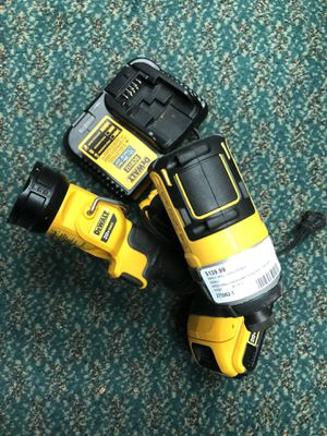 Impact Drill, Tools-power Dewalt Impact still Flash 2 Batteries & Charger for Sale in Baltimore, MD