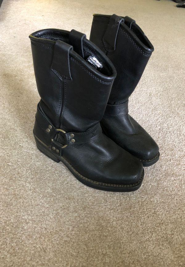motorcycle hard toe boots