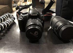 Canon EOS Rebel Canon EOS Rebel T3 12.2MP Digital SLR Camera - Black COMES WITH TRI-Pod for Sale in Miami, FL