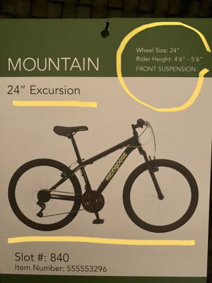 """Mountain bike Mongoose Excursion (24 """") for Sale in Sterling Heights, MI"""