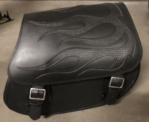 Beautiful leather quick release saddlebags! for Sale in Gilbert, AZ
