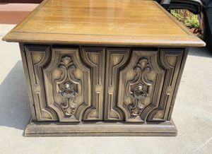 Beautiful antique solid wood cabinet for Sale in Downey, CA