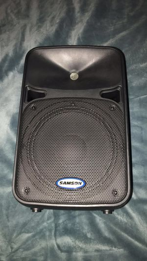 Samson 210 Watt Amplifier. 9inch woofer. (Bought new for $275) for Sale in Atlanta, GA