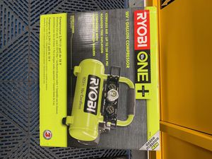 Ryobi 18v Cordless Air Compressor for Sale in Schiller Park, IL