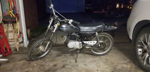 Vintage 1971 Suzuki TS-50 motorcycle for Sale in DeSoto, TX