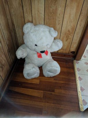 White Teddy Bear for Sale in Fall River, MA