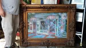 Old frame picture 24by 36 for Sale in Tarpon Springs, FL