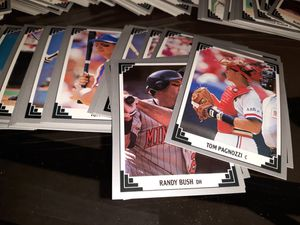 Lot 5 box of baseball cards for Sale in San Diego, CA
