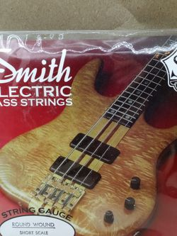 Smith Electric Bass Guitar Strings for Sale in Waterbury,  CT