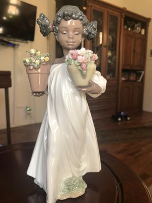Wild flowers girl figurine for Sale in Spring Valley, CA