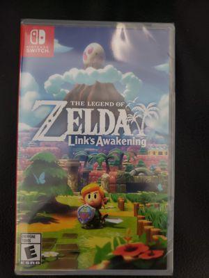 Zelda : Link's Awakening game brand new Nintendo Switch for Sale in Garden Grove, CA