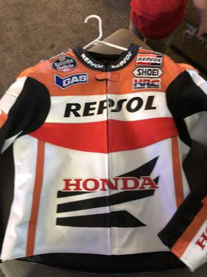 honda repsol leathwe motorcycle jacket for Sale in Clinton, PA