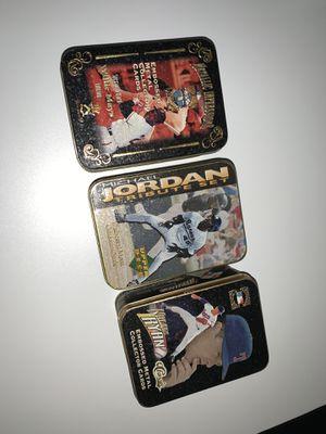 Michael Jordan, Willie Mays, Nolan Ryan collectible baseball cards for Sale in Renton, WA