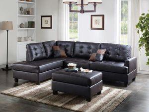 Sofa chaise ottoman. New for Sale in Mesa, AZ
