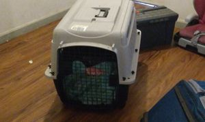 Dog crate brand new used one time must be picked up for Sale in Jersey City, NJ