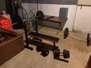 Full gym set for Sale in Springfield, NJ