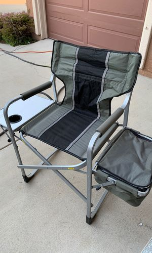 Camping chair with built in cooler for Sale in Murrieta, CA