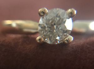 14k Gold .55ct Solitaire Diamond Engagement Ring for Sale in Colton, CA