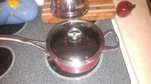Chantal Chili Red 3 Qt. Saucepan for Sale in Georgetown, TX