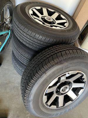 Toyota 4Runner stock tires/wheels $650 obo for Sale in Huntington Beach, CA