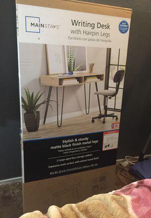Mainstays writing desk for Sale in Sacramento, CA
