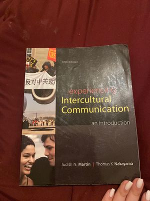 Experiencing Intercultural Communications fifth edition for Sale in Miami, FL