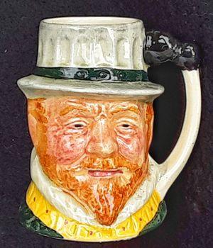 """3"""" Lancaster Sandland vintage ceramic toby mug Sir Francis Drake - MADE IN ENGLAND for Sale in Saginaw, MI"""