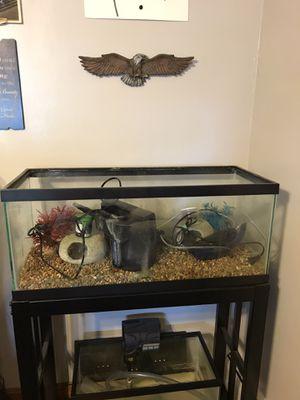 20 gallon fish tank kit for Sale in Attleboro, MA