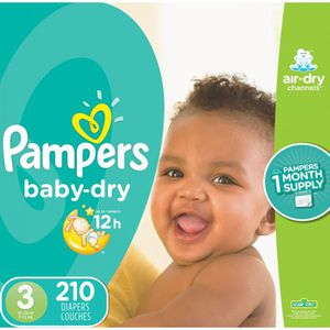 Pampers Diapers size 3 for Sale in Norcross, GA
