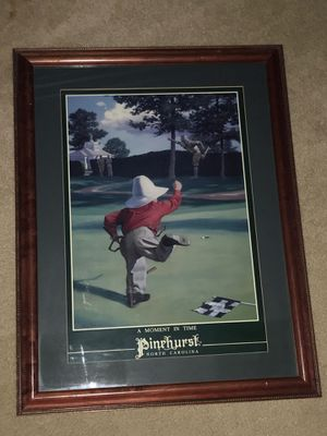 Pinehurst Golf Picture for Sale in Wake Forest, NC