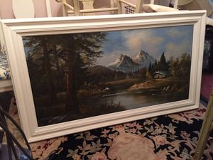 Large framed painting for Sale in Elmsford, NY
