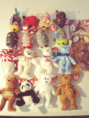 17 TY TENNIE BEANIE BABYS for Sale in Kennewick, WA