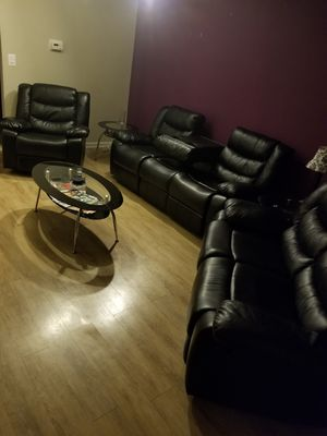 3pc reclining sofa , love seat and recliner for Sale in Olney, MD