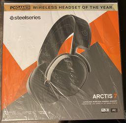 Headset Wireless Steel Series Arctis 7 Black for Sale in Pomona,  CA