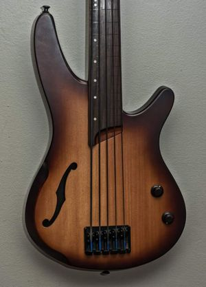 Ibanez 5 string fretless bass guitar for Sale in Portland, OR