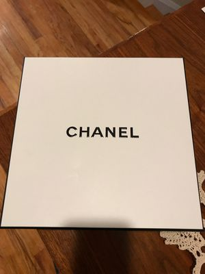 Empty Chanel Perfume Box for Sale in Baltimore, MD