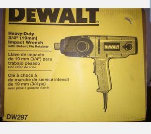 DEWALT DW297 3/4-Inch Impact Wrench for Sale in Westampton, NJ