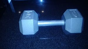 1 30lb Dumbbell for Sale in Chicago, IL