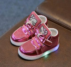 New hello kitty toddler girl shoes sneakers . Light up for Sale in Orlando, FL