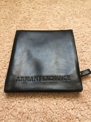 Armani Exchange black wallet for Sale in Orlando, FL