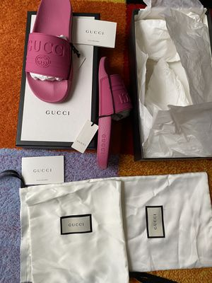 Gucci women Luxury sandals size 7.5 New for Sale in Kettering, MD