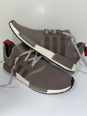 Adidas NMD R1 Boost Tech Earth Brown White Sneakers Shoes S81881 Mens Size US 13 for Sale in Westlake Village, CA