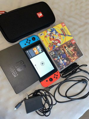 Nintendo switch version 2 for Sale in Washington, DC