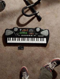 Kawasaki Keyboard For Kids for Sale in East Wenatchee,  WA