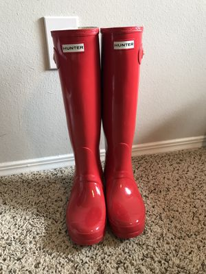 Hunter Rain Boots. Size 8. for Sale in Franklin, TN