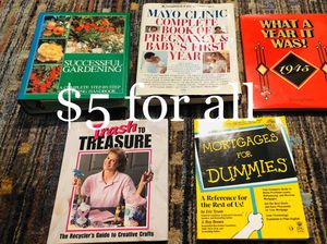 Assorted books for Sale in Universal City, TX