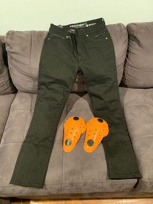 Women's motorcycle Kevlar jeans for Sale in Long Beach, CA